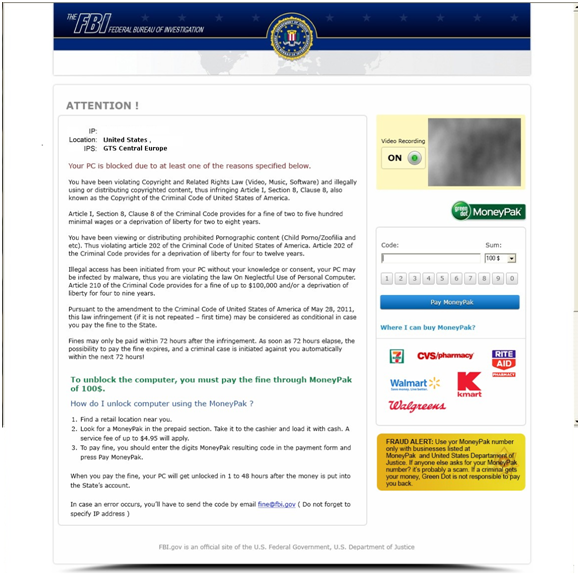 FBI ransomware