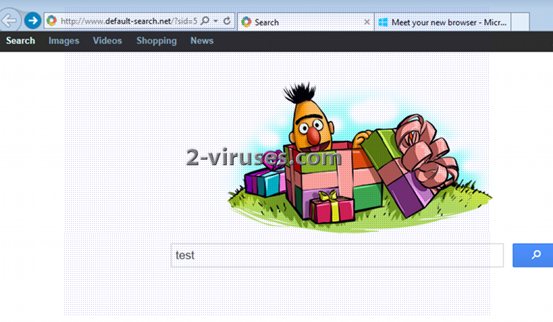Default-search.net virus