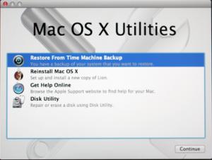 Således Gendannes Mac til en Tidligere Dato