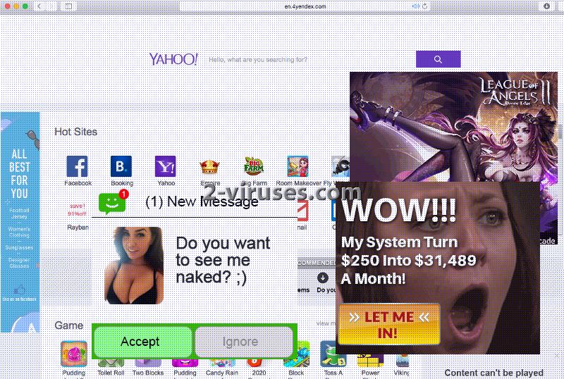 4Yendex.com virus