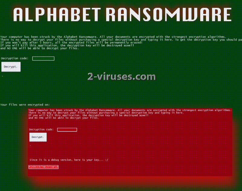 Alphabet virus