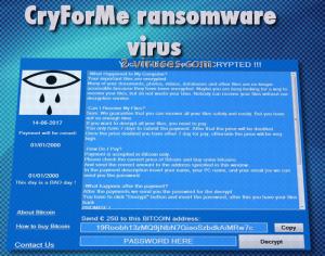 CryForMe virus