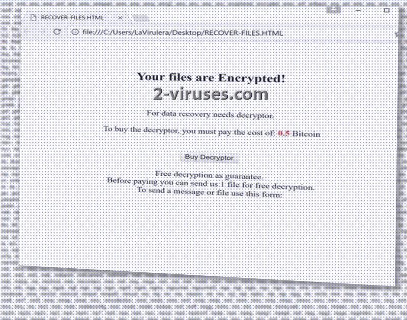 Amnesia ransomware