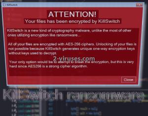 KillSwitch ransomware