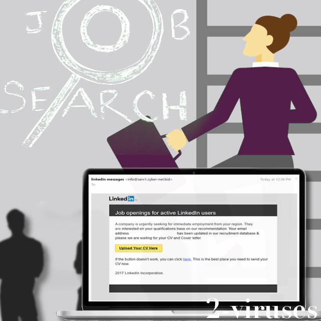 Job hunting gone wrong: rogue emails from LinkedIn
