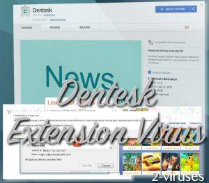Dentesk extension virus