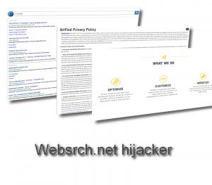 Websrch.net hijacker