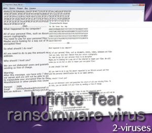 InfiniteTear ransomware virus