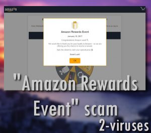 """Amazon Rewards Event"" svindel"