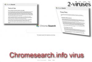 Chromesearch.info virus