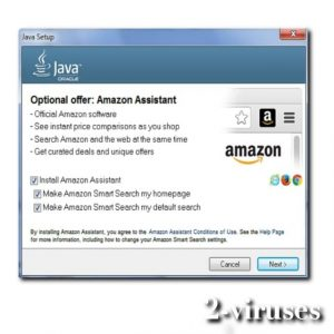 Amazon Assistant virus