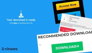 Download-alert.com Annoncer og Omdirigeringer