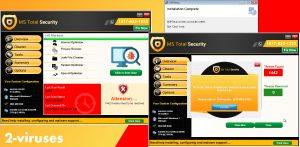 MS Total Security Fake Optimizer